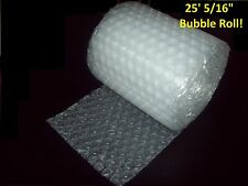 "25 Foot Bubble® Wrap Roll! 5/16"" MEDIUM Bubbles! 12"" Wide!  Perforated Every 12"""