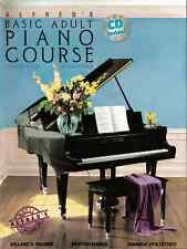 "ALFRED'S BASIC ADULT PIANO COURSE ""LESSON"" LEVEL 3 MUSIC BOOK/CD BRAND NEW SALE!"