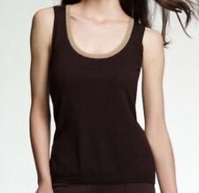 Women's Anne Klein Brown Sweater Medium Vest NWT