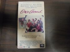 """USED VHS Movie  """"Once Around"""""""