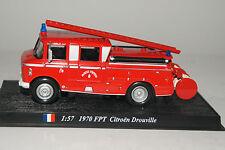 Del prado voiture miniature 1:57 1970 FPT CITROEN Drouville