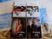 2X LOT DVD Breaking Bad Complete First & THIRD Season 1 3 DISCS IN EUC