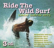 Ride The Wild Surf: Great Surfin Hits (3cd) New CD