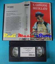VHS film S.GIOVANNI DECOLLATO N. 6 1937 Totò De Filippo VIDEO80 (F94) no dvd