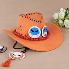 one piece ACE hat cosplay cap new arrival
