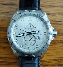 JCL German Automatic Men's Watch Power Reserve Dual Time Zone Original Box  *EX*