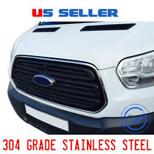FORD TRANSIT CHROME FRONT GRILLE SURROUND FRAME TRIM 2014 2016 STAINLESS STEEL