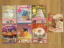Cake Decoration, Cupcake and Chocolate Food Heaven Magazine Bundle