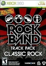 Rock Band Track Pack: Classic Rock -- Microsoft Xbox 360 -- GREAT CONDITION