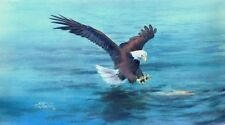 BALD EAGLES' CATCH  by Sharon Sharpe!