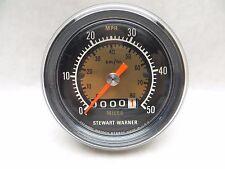 Vintage Stewart Warner Bicycle Speedometer  828975 USA New Never Mounted