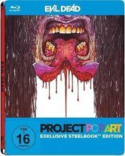 EVIL DEAD (Jane Levy, Jessica Lucas) Blu-ray Disc Steelbook Pop Art NEU+OVP