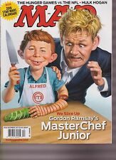 MAD MAGAZINE #536 DECEMBER 2015, MASTER CHEF JUNIOR, NEW NO LABEL.
