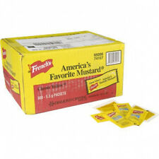 French's Yellow Mustard Packets 500 ct  - frenchs