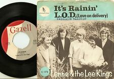 LENNE & THE LEE KINGS IT`S RAINING & LOVE ON DELIVERY SWEDEN 45+PS 1965 MOD BEAT