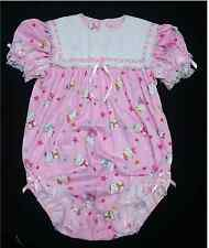 ADULT SISSY BABY GIRL ONESIE KITTY ROMPER BABY NIGHT SLEEPER