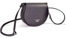 NWT GUESS Women CAPITOL COAL CROSSBODY Messenger HIGHWAY MINI  BAG G SIGNS