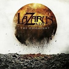 The Onslaught by Lazarus A.D. (CD, 2009, Metal Blade) CD & PAPER SLEEVE ONLY