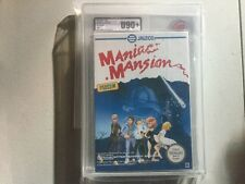Vga Ukg U90 + Sealed Maniac Mansion New Pal B Spain Nintendo  Nes