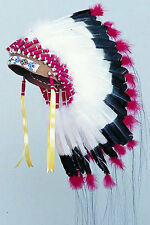SIOUX WARBONNET HEADDRESS KIT REGALIA POW WOW RENDEVOUS TRIBAL CRAFTS KITS