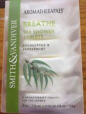 Smith & Vandiver 6 Spa Shower Tablets 4.8oz Eucalyptus & Peppermint