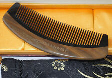 Empty Person@ Natural Green Sandalwood Horn Comb Fine-Tooth Comb Brand-868