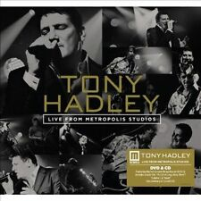 Live From Metropolis Studios [DVD+CD] by Tony Hadley (DVD, Sep-2013, 2 Discs,...