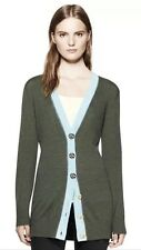 NWT Authentic Tory Burch Simone Boyfriend Cardigan Sweater Tunic Size Medium M
