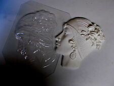 ART DECO MASK  Plastic Mould  Chocolate Soap Plaster Wax