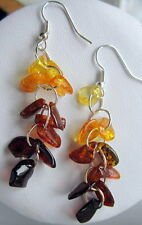 GENUINE AMBER EARRINGS 3,71 gr.