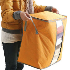 Portable Home Storage Box Non Woven Underbed Clothing Shoes Organizer Pouch Box