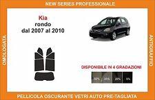 pellicola oscurante vetri pre-tagliata Kia rondo dal 2007 al 2010 kit post