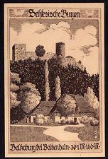 69526 AK Schlesische Burgen Bolkoburg Bolkenhain 1912