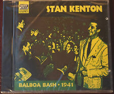 Rare Stan Kenton Balboa Bash  26 Tracks Sealed CD 1st Naxos Macgregor Transcript