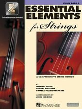 Essential Elements for Strings Book 2 with EEi Violin Book Media Onlin 000868057
