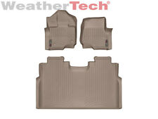 WeatherTech FloorLiner for Ford F-150 SuperCrew Bucket - 2015-2017 - Tan