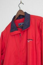 Vintage Ralph Lauren Polo Sport Windbreaker Vest Sz Large Red Blue 90's zip up