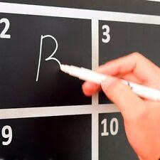 New White liquid chalk pen/glass marker for window chalkboard blackboard 3mm