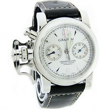 W633- GRAHAM CHRONOFIGHTER STAINLESS STEEL SWISS MADE MENS