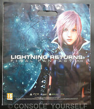 FINAL FANTASY XIII LIGHNING RETURNS / THIEF - DOUBLE SIDED - PROMO CARRIER BAG