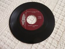 DANNY OVERBEA DON'T LAUGH AT ME/STOP  APEX 7751 CHICAGO LABEL