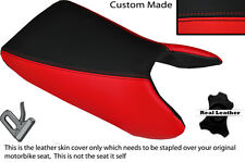 RED & BLACK CUSTOM FITS HONDA LS 125 R 95-03 FRONT LEATHER SEAT COVER
