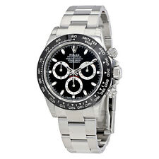 Rolex Cosmograph Daytona Black Dial Oyster Mens Watch 116500BKSO