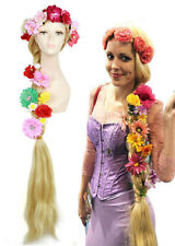 Disney Movie Tangled Princess Rapunzel s Wig Super Long Braid Anime Cosplay Wig