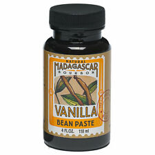 Brand New LorAnn Oils Natural Bourbon Madagascar Vanilla Bean Paste 4 FL. OZ.
