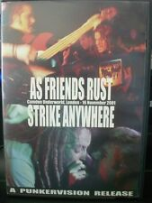 As Friends Rust/Strike Anywhere - Live at Camden Underworld, London (DVD, 2003)