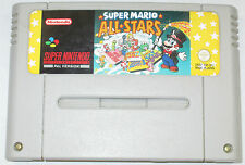 SUPER MARIO ALL STARS-SUPER NINTENDO SNES GAME-VERSIONE PAL