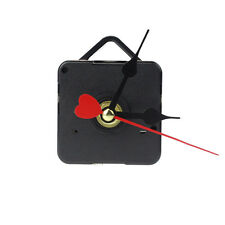 Fathion Red Heart Hands DIY Quartz Wall Clock Movement Mechanism Repair Part HOT