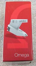 "NEW ORTOFON OMEGA CARTRIDGE & STYLUS FOR TECHNICS TURNTABLES 1/2 "" MOUNTING"
