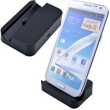 Black Micro USB Dock Charger Cradle For Samsung Galaxy Note 5 4 2 S7 S6 Edge #TY